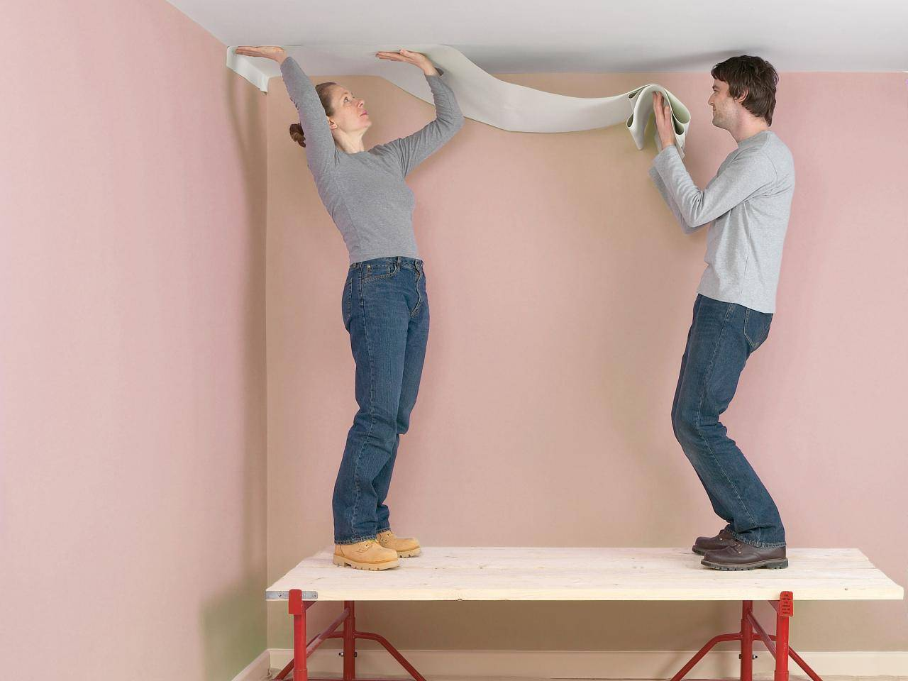 Стеклообои под покраску: оклейка и покраска своими руками