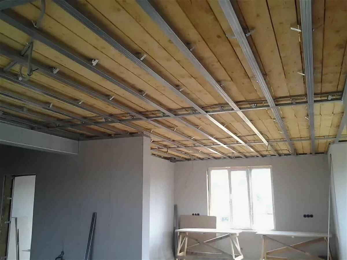 Обшивка стены гипсокартоном с чего начинать с потолка или стен