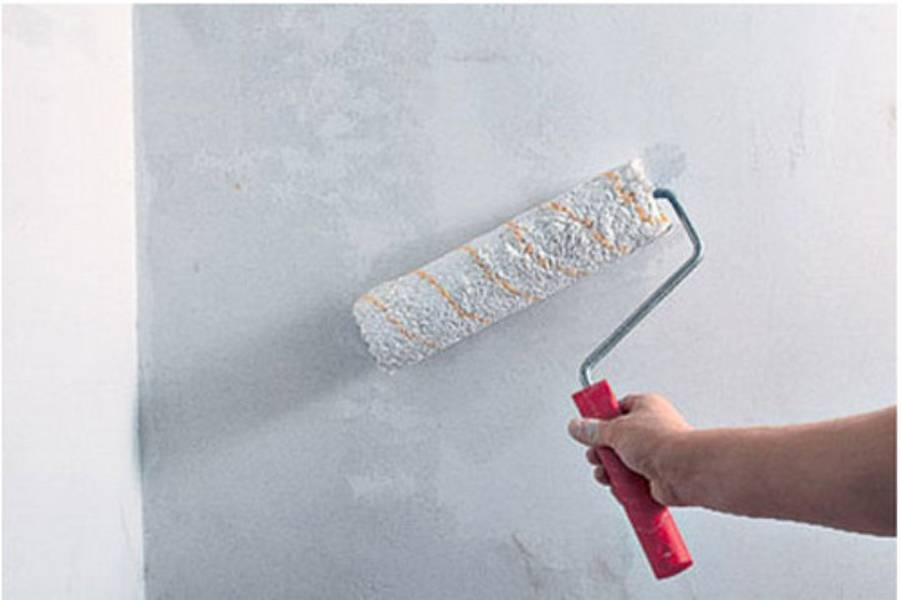 Штукатурка потолка под покраску: технология выполнения работ