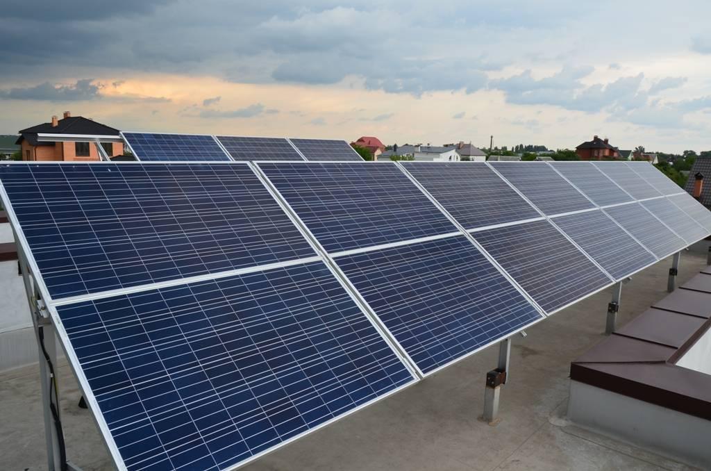 Комплект солнечной электростанции для дачи и дома