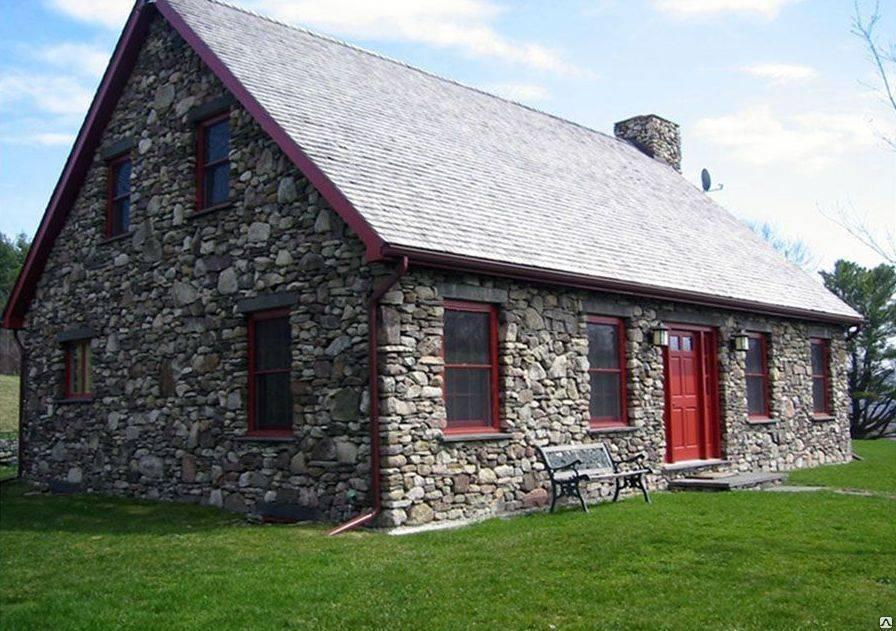 Дом из камня натурального и строительство из природного камня