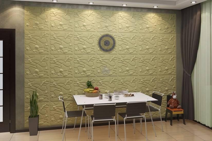 9 материалов для отделки стен кухни