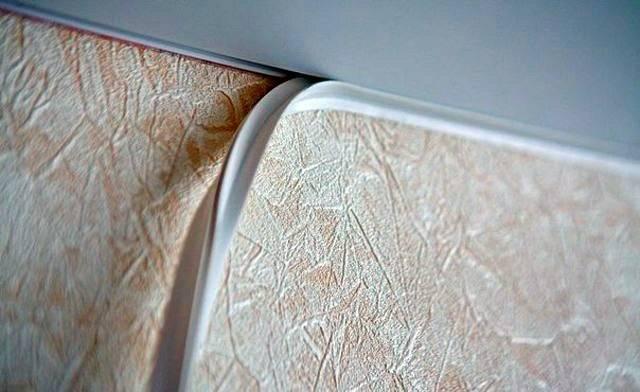 Маскировочная лента для натяжных потолков — назначение и виды