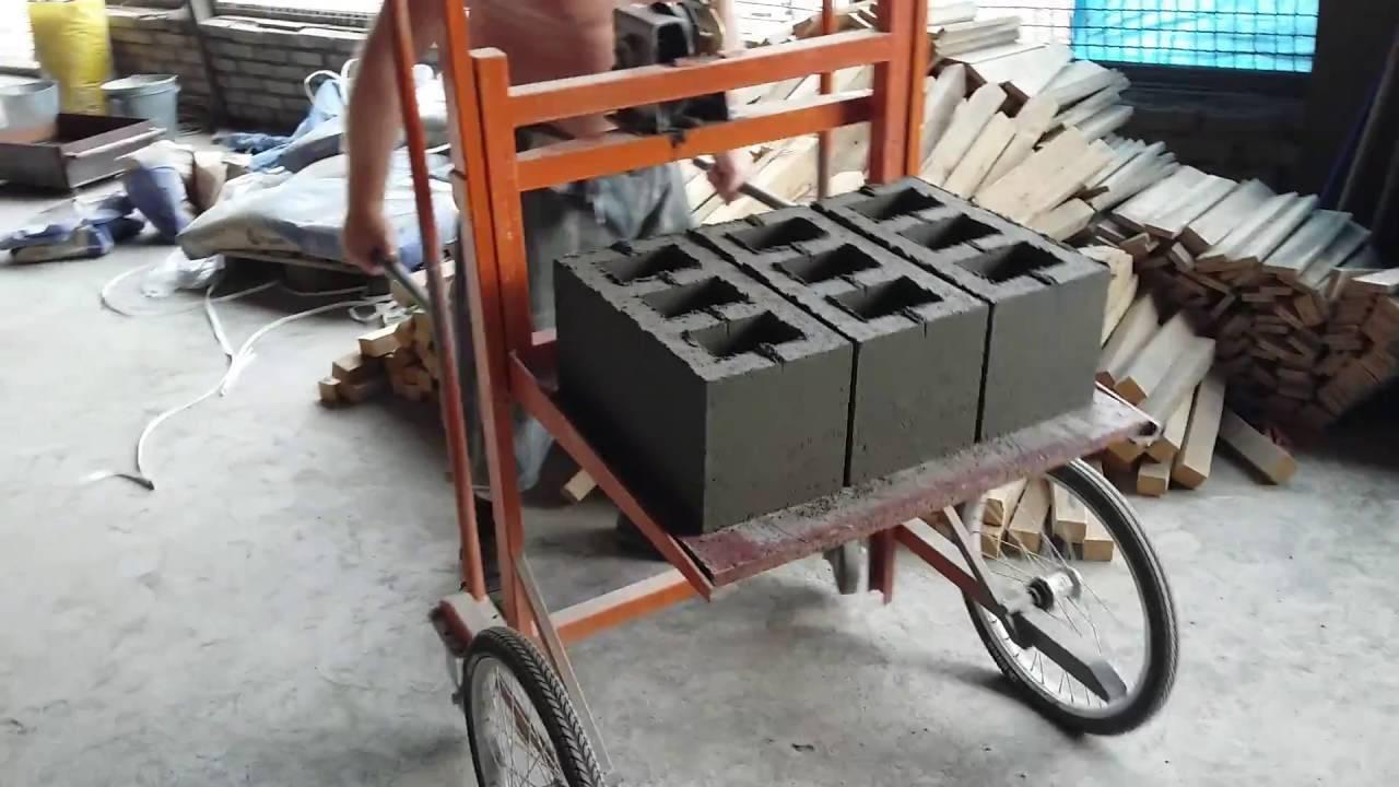 Из чего делают шлакоблоки и станки для производства