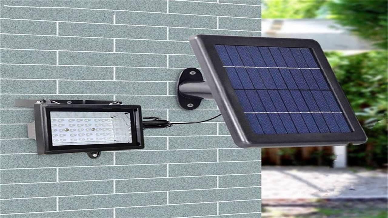 Уличное освещение на солнечных батареях своими руками