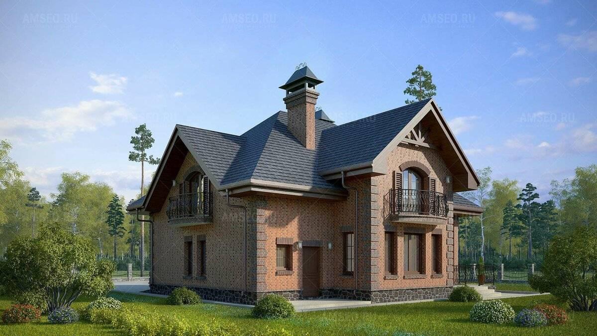 Фасады двухэтажных домов из кирпича. фасад из кирпича — 100 фото и эксклюзивных идей по оформлению фасада