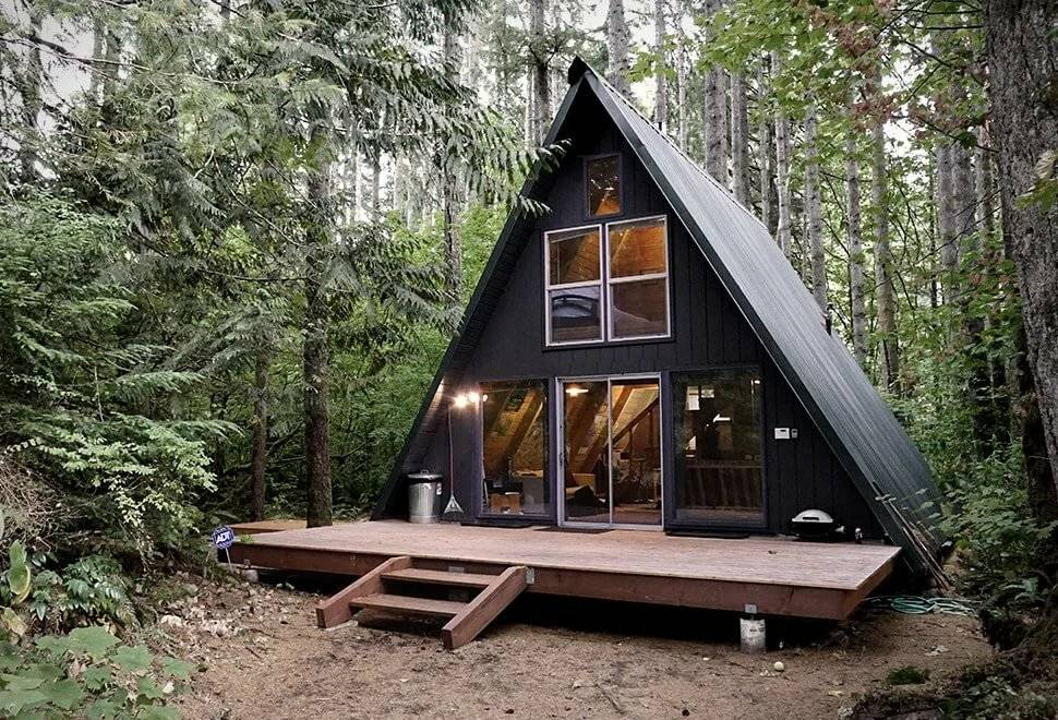Конструктивные особенности проектов дома-шалаша и их преимущества   папа мастер!