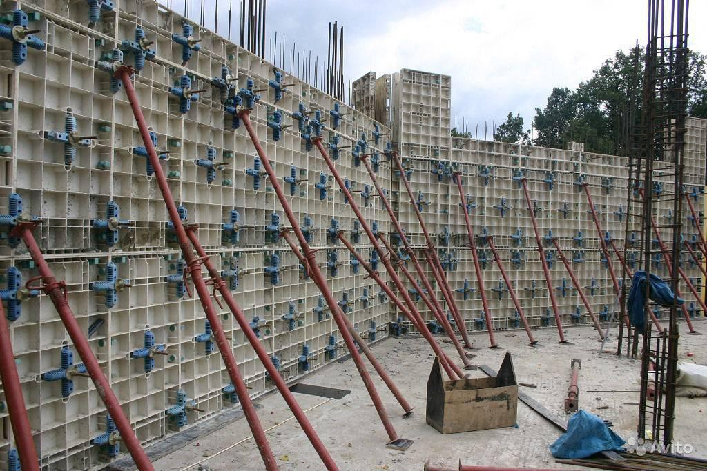 Скользящая опалубка: монтаж, бетонирование и возведение зданий
