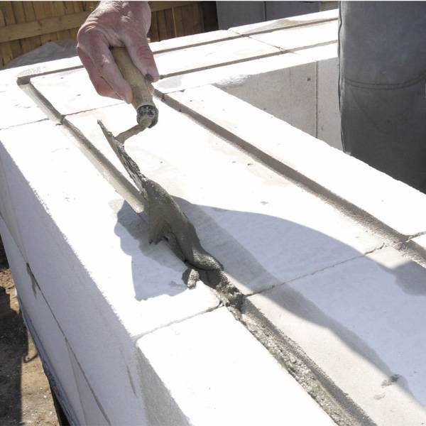 Кладка газосиликатных блоков своими руками - пошаговая инструкция