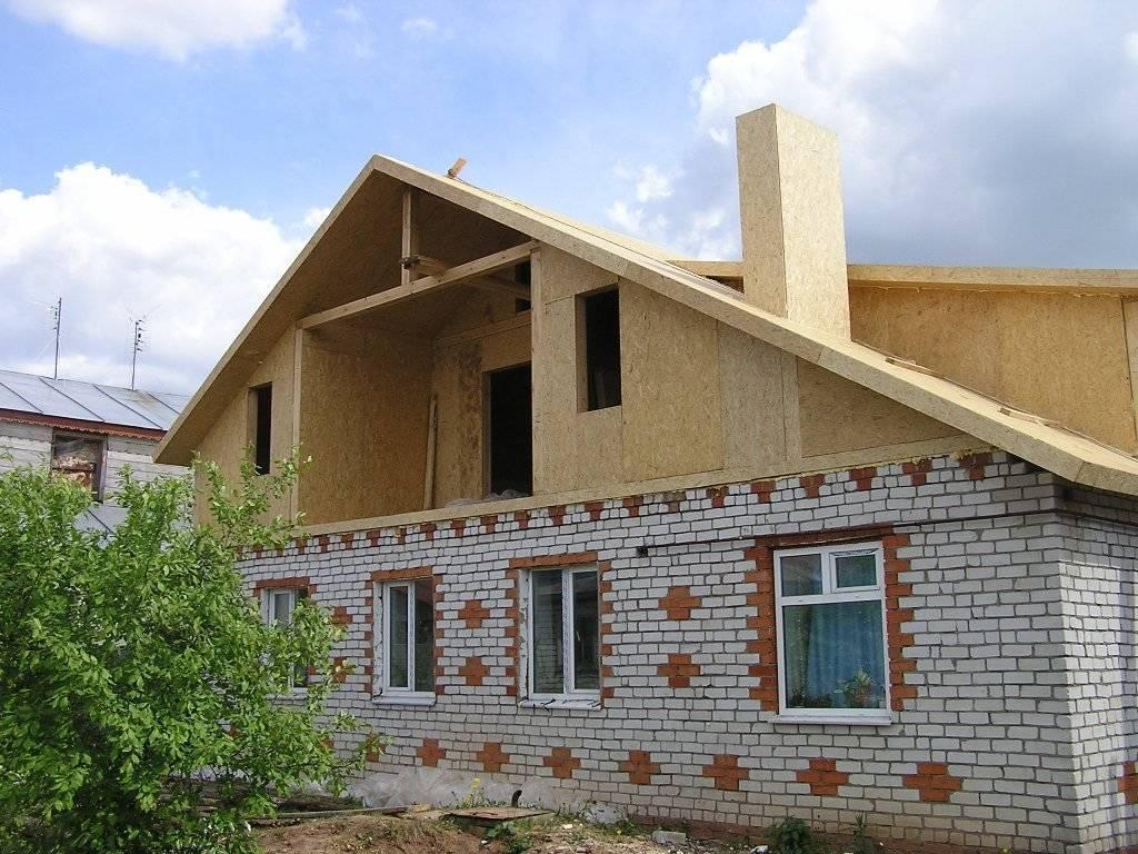Двухэтажный каркасный дом своими руками. - ясамблог