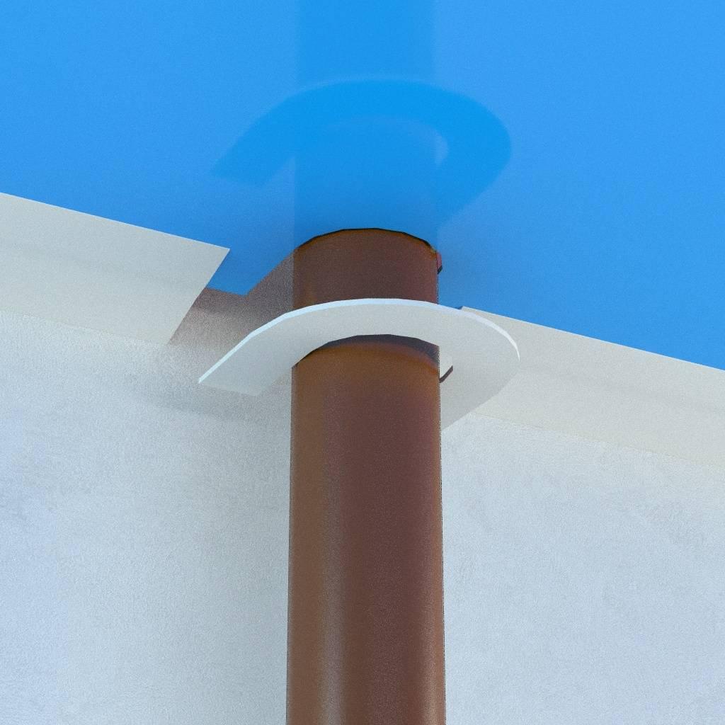 Как сделать отверстие в натяжном потолке: несколько простых вариантов