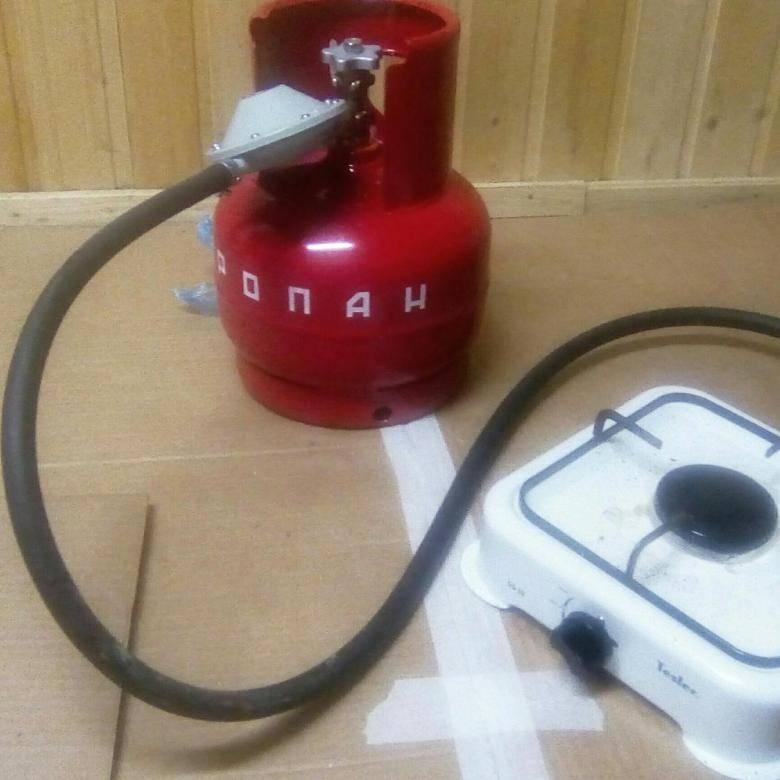Как подключить плиту к газовому баллону от шкафа