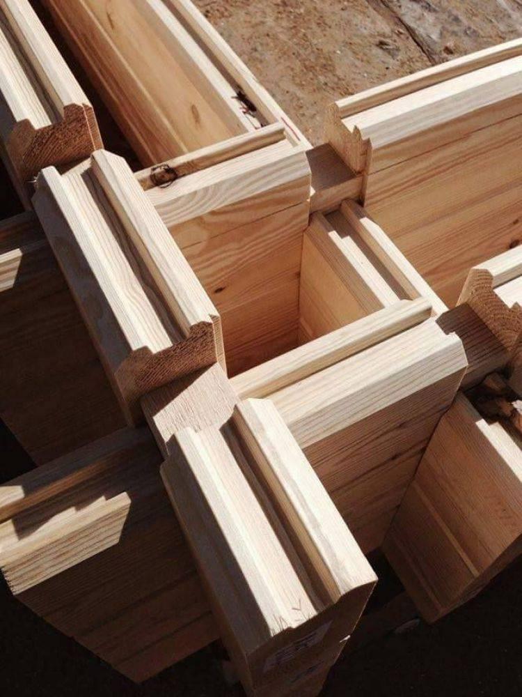 Двойной брус по финской технологии теплый дом, проекты