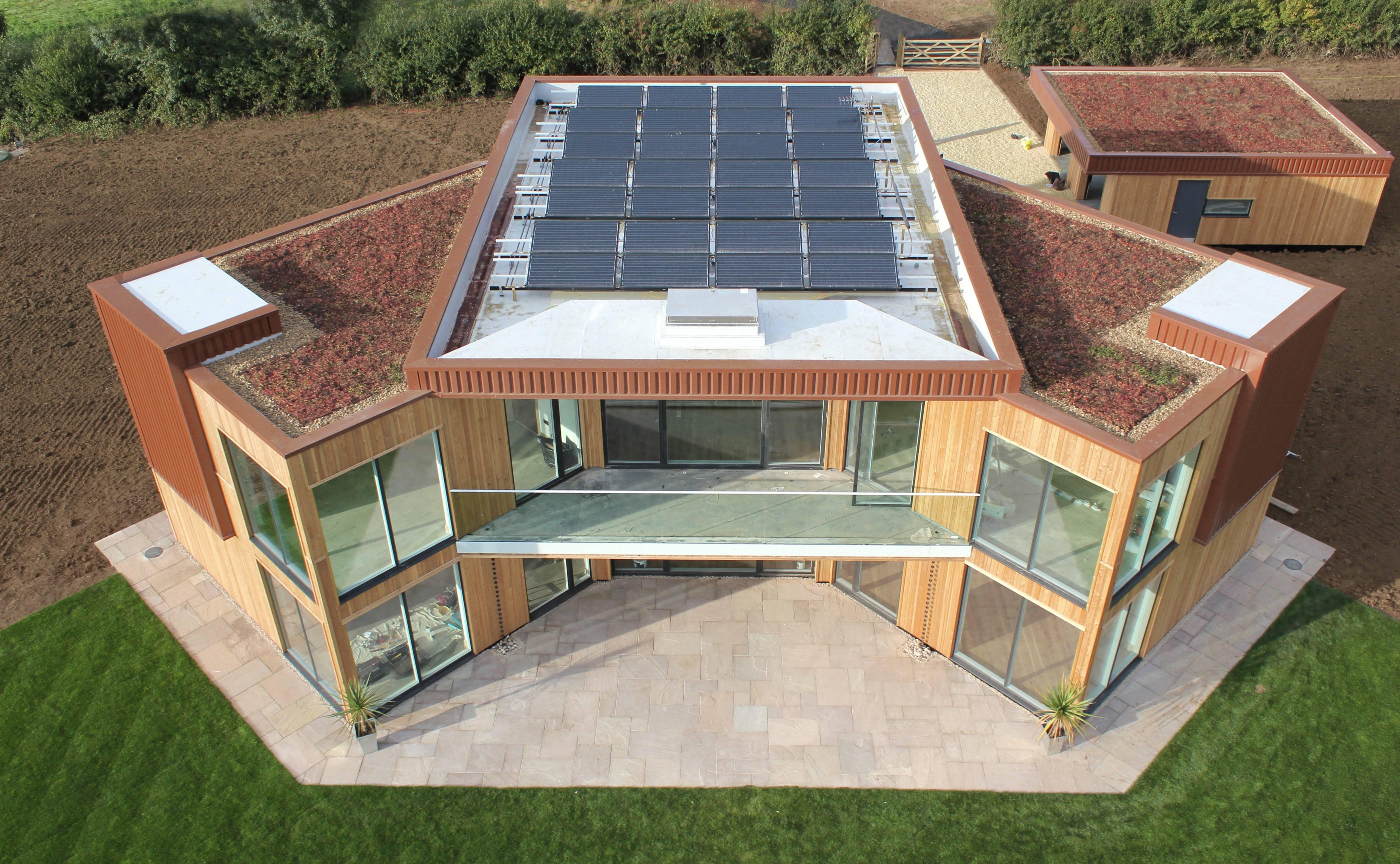 ????применение новых технологий при строительстве частных домов - блог о строительстве