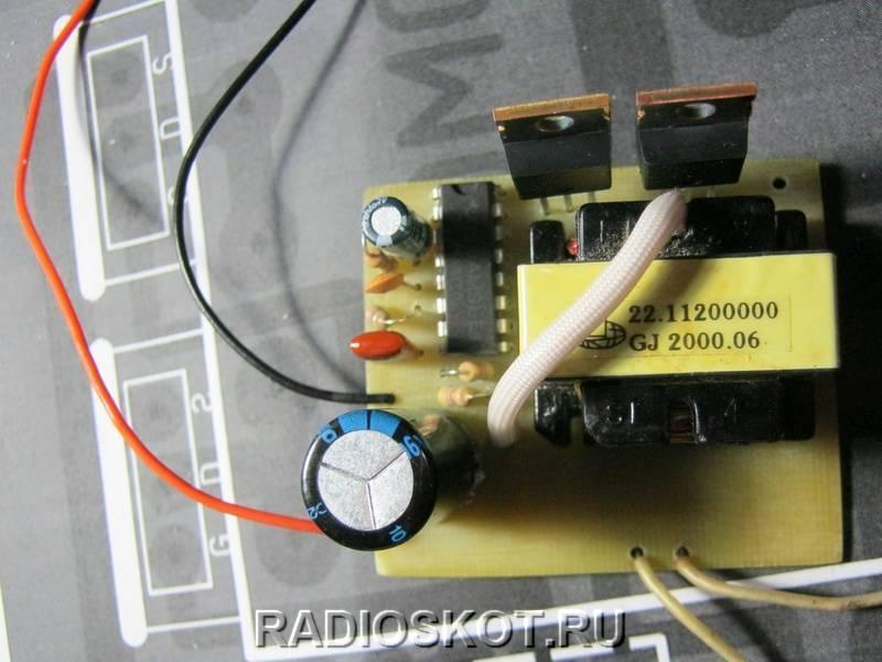Инвертор с чистым синусом за 15 минут или «силовая электроника — каждому» / хабр