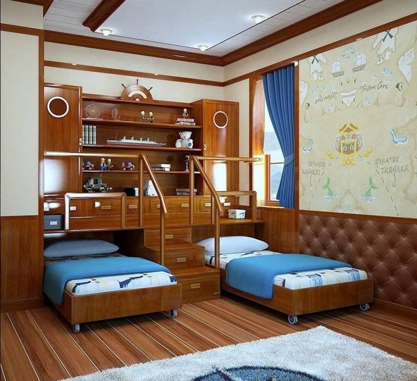 Как обустроить комнату школьника от 7 до 12 лет