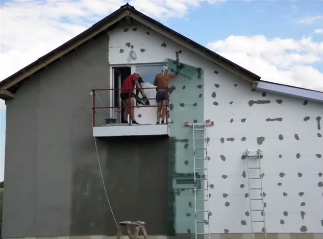 Утепление фасада пенопластом: технология и стоимость работ