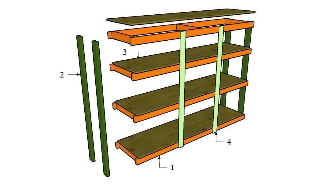 Стеллажи для гаража – качественные модели и системы хранения для профессионалов (95 фото)