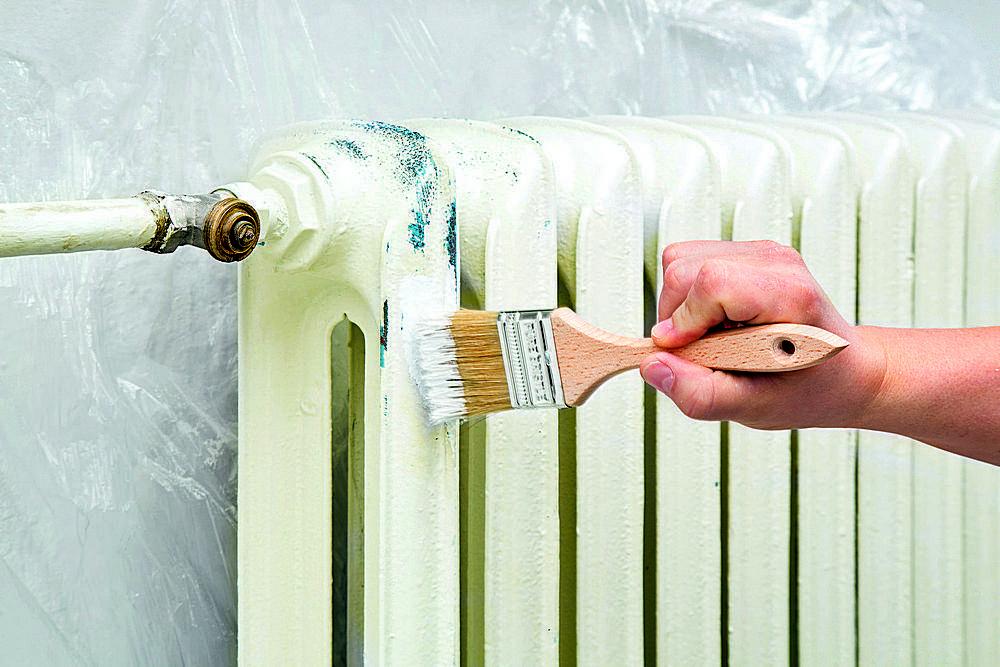 Чем и какой краской покрасить батареи отопления