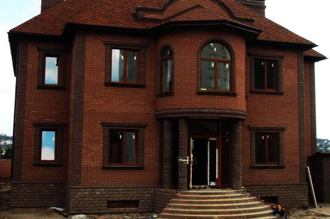 Отделочный фасадный кирпич – разновидности и советы по облицовке фасада
