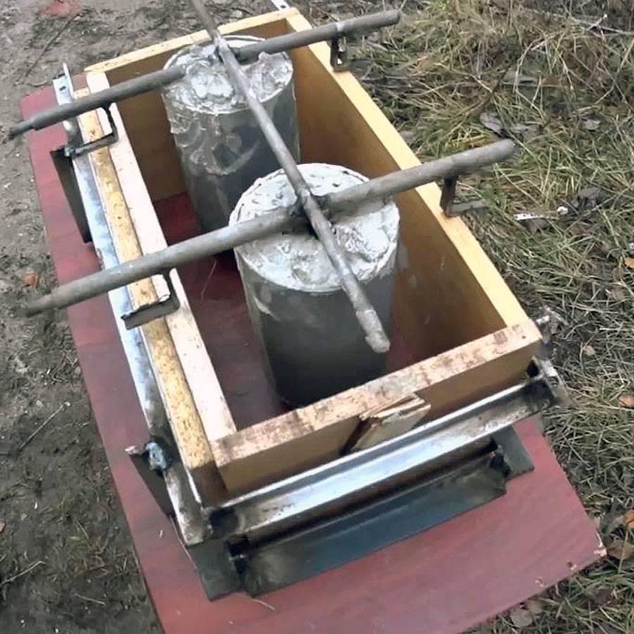 Как изготовить станок и сделать шлакоблок?