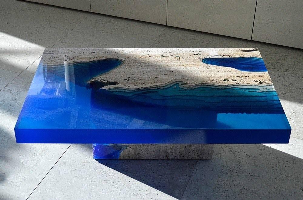 Как залить стол-реку эпоксидной смолой? пошаговое руководство + видео