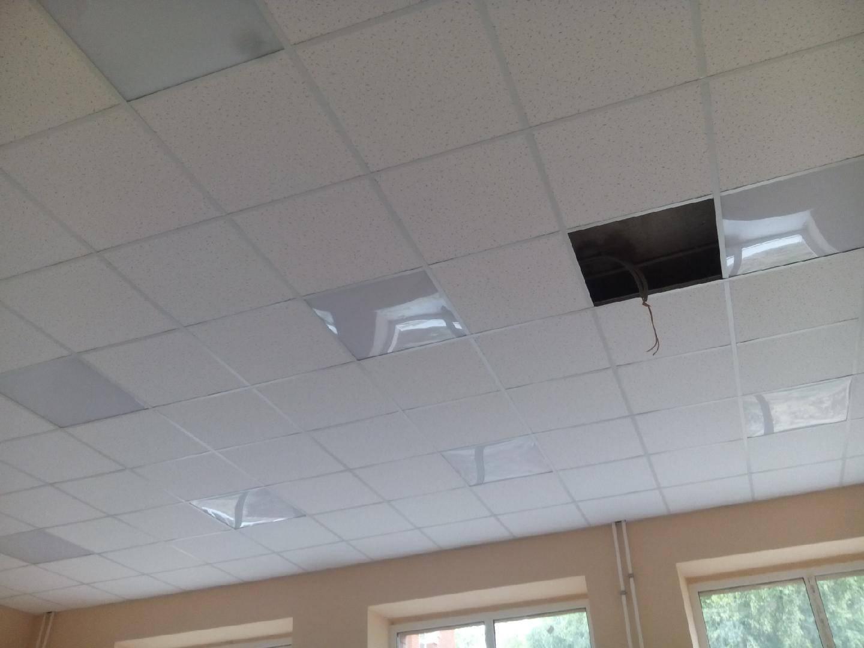 Установка подвесного потолка Армстронг и расценки на монтаж