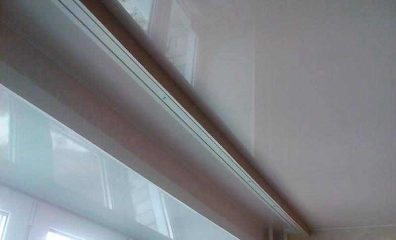 Шторы под натяжной потолок — особенности оформления и подбора штор для интерьеров (135 фото)