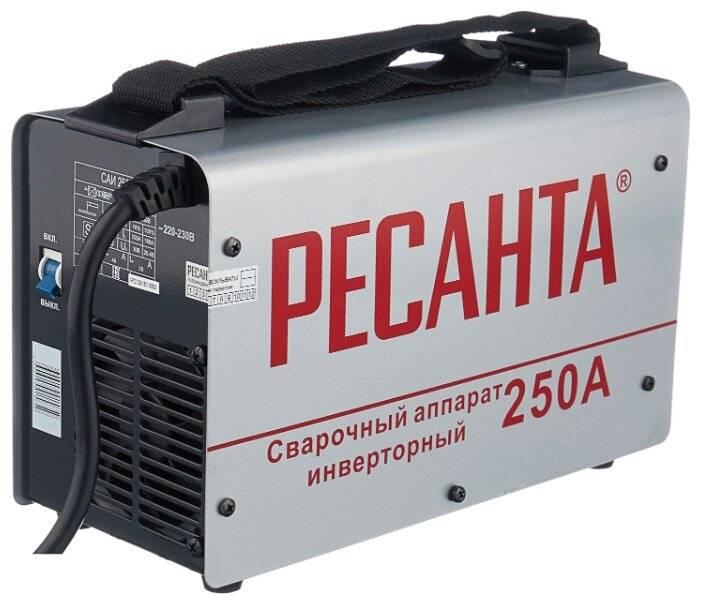 Особенности и параметры сварочного аппарата ресанта саи-220, отзывы пользователей, цена