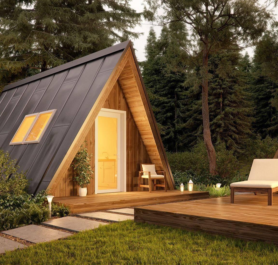 Дом-шалаш — оригинальный вариант загородной постройки и необычная альтернатива стандартным дачным домикам - квартира, дом, дача - медиаплатформа миртесен