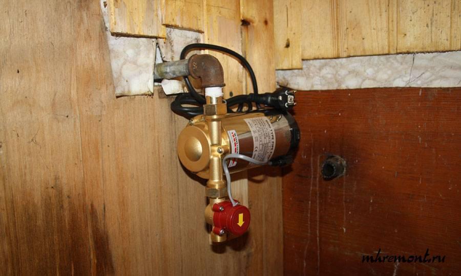 Выбор насоса для повышения давления воды в водопроводе - vodatyt.ru