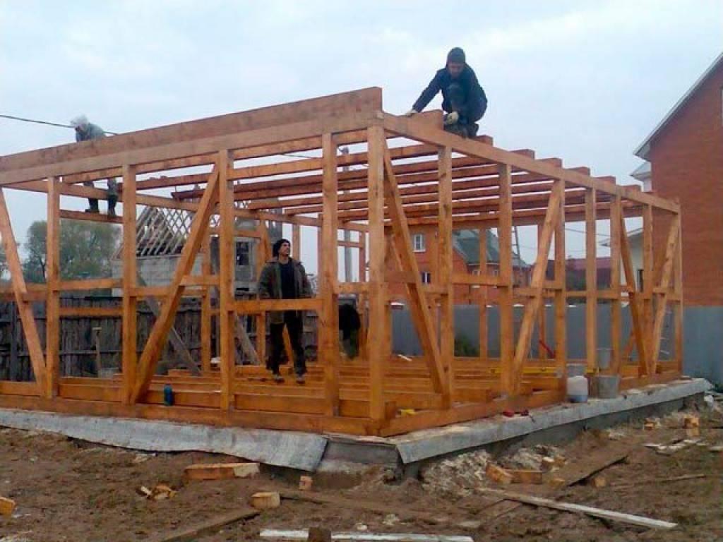Строим дом своими руками и поэтапный показ строительства — строй лэнд