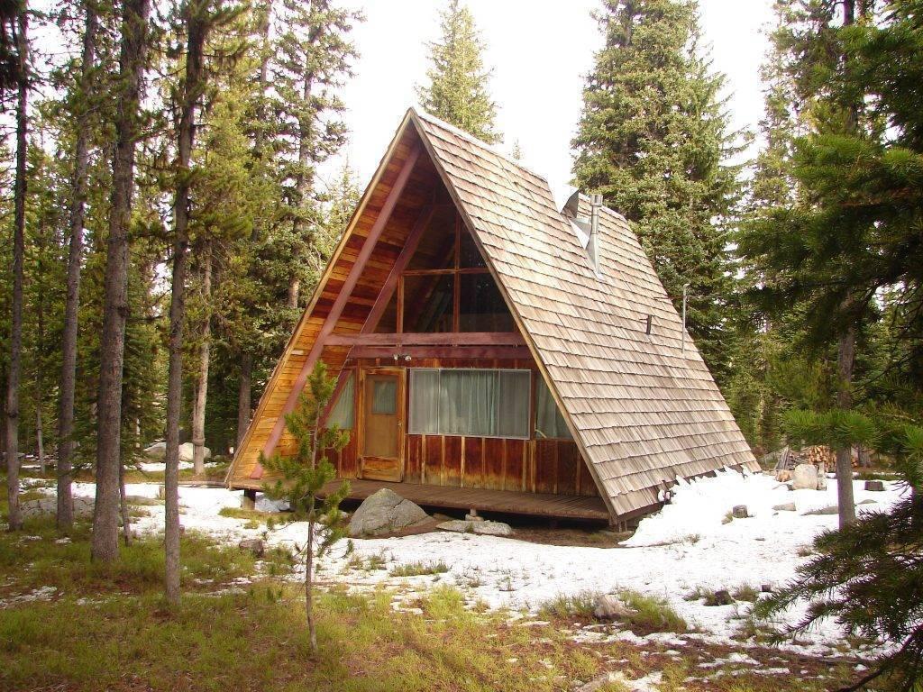 Дом-шалаш или дом-палатка: примеры, особенности проекта