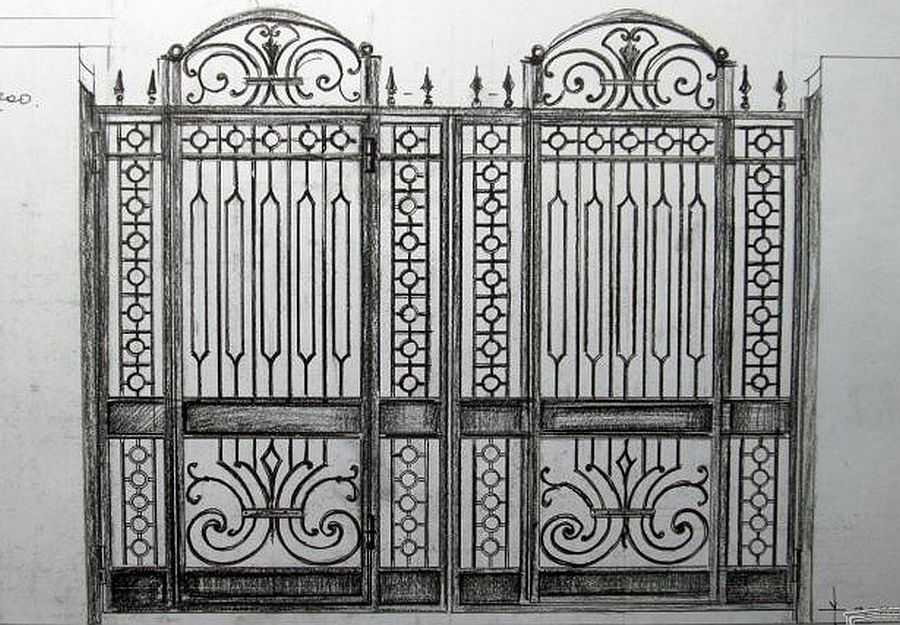 Заборы и ограждения для дома: деревянные, металлические, кирпичные, каменные, из шифера, профлиста
