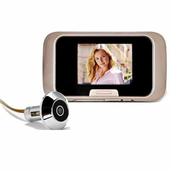 Видеоглазок для входной двери: проводной, беспроводной, с записью