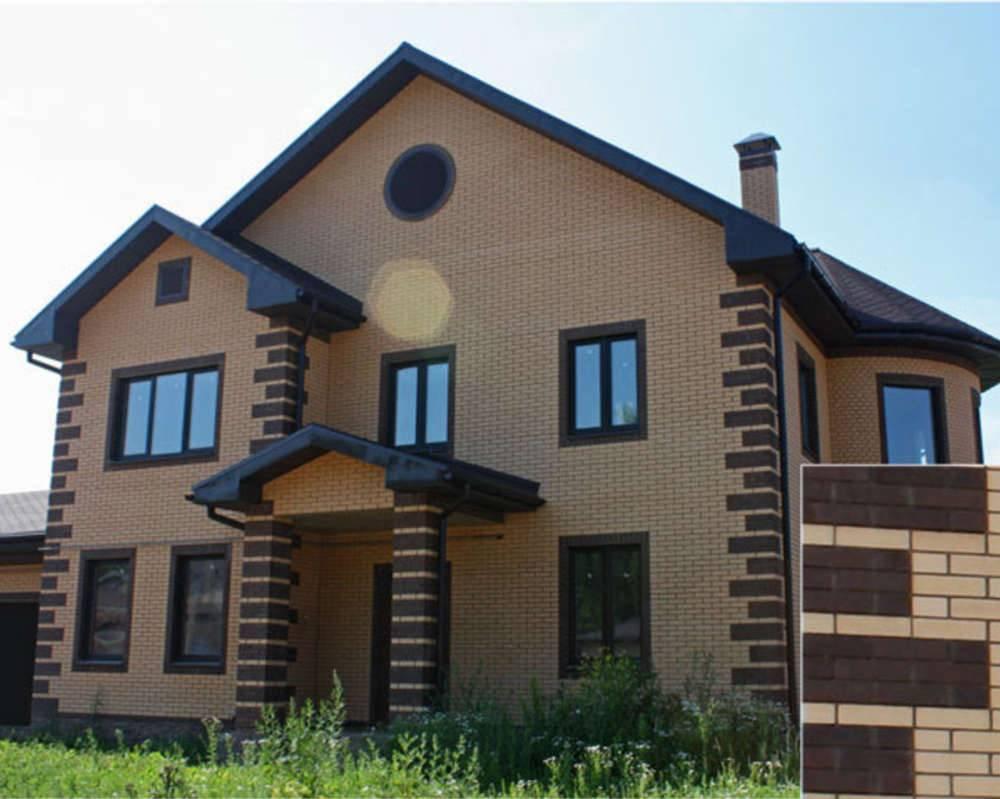 Дома из кирпича цвета солома. белый кирпич для дома: в чем его преимущества