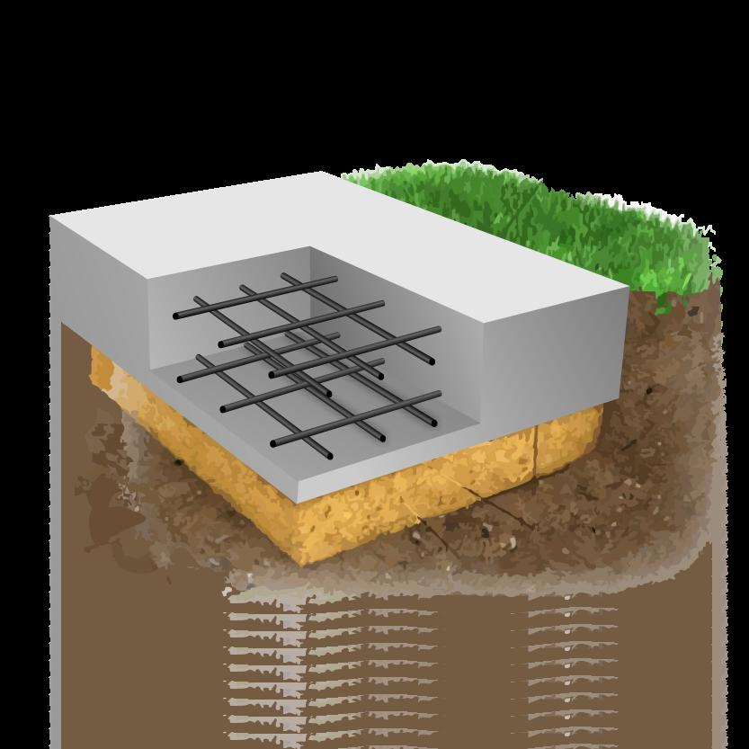 Технология возведения плитного фундамента