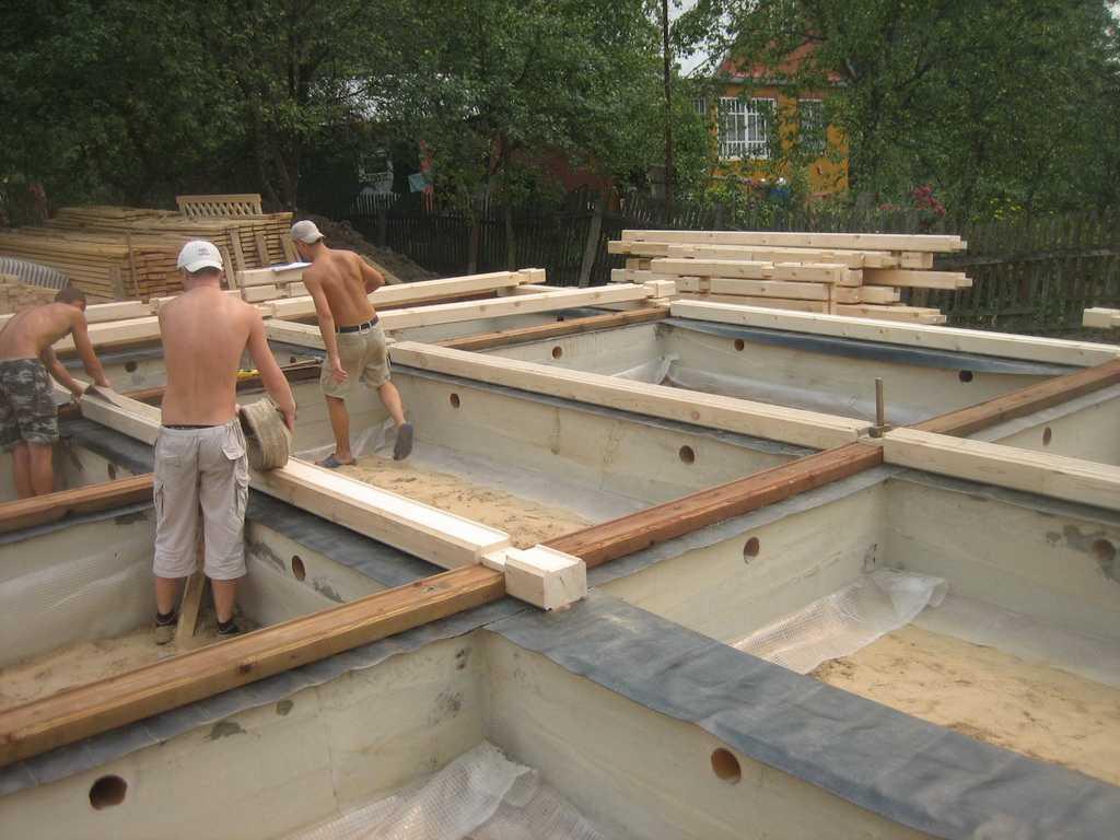 Как построить в одиночку бюджетный дом из бруса: антикризисное решение | личный опыт (огород.ru)
