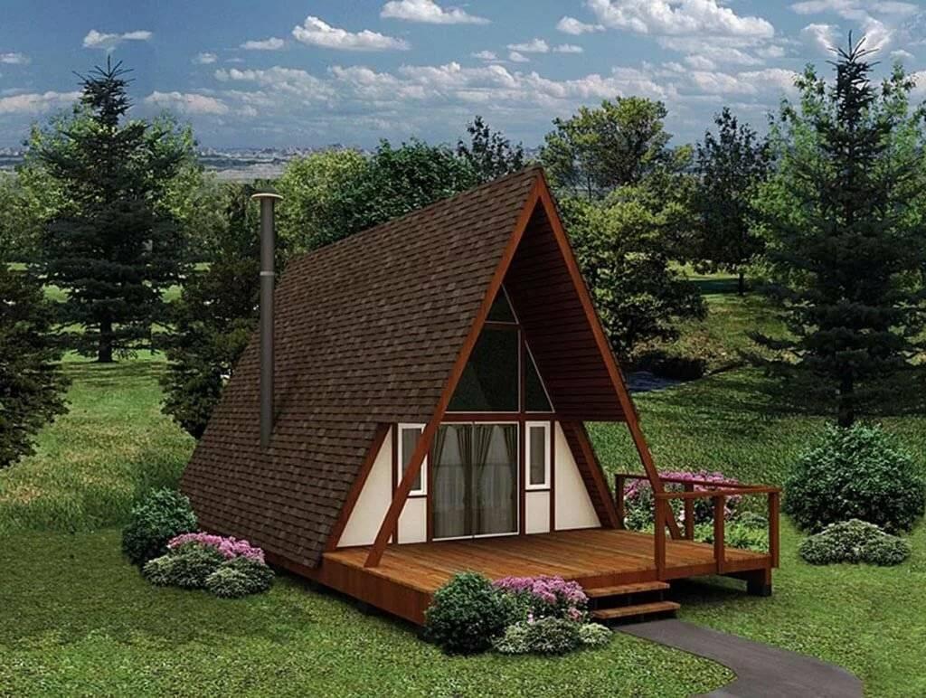 Как построить шалаш дома – дом без стен