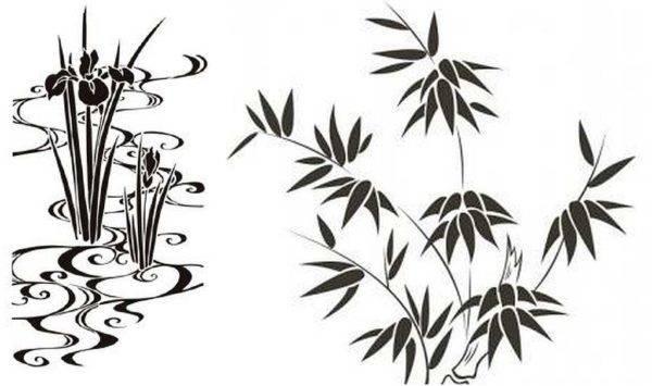 Трафареты для декора: создание узора, применение и особенности украшения трафаретами (85 фото)