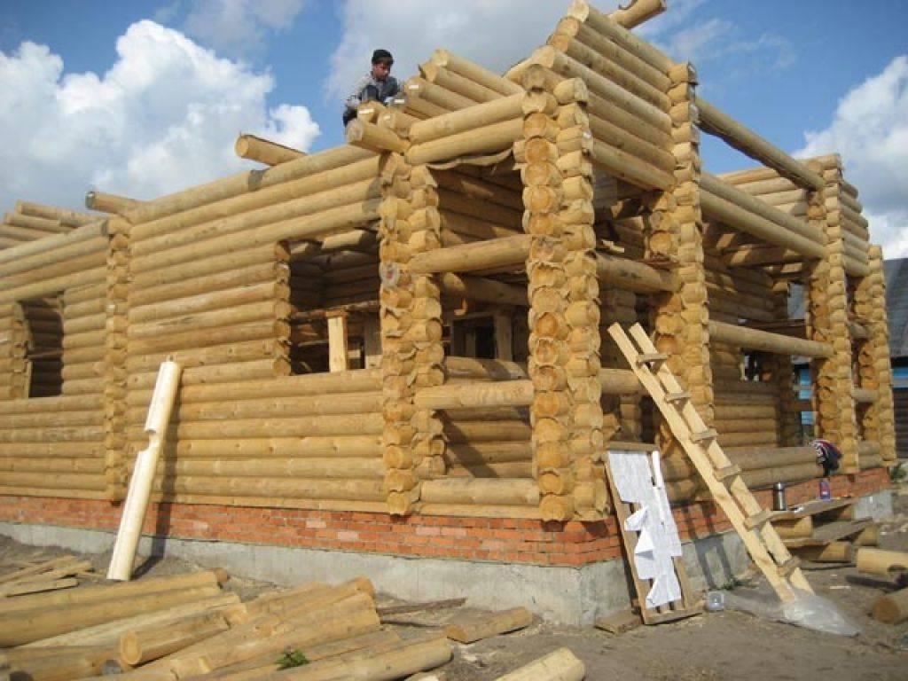 Строительство домов из оцилиндрованного бревна под ключ в московской области, проекты с ценами на строительство
