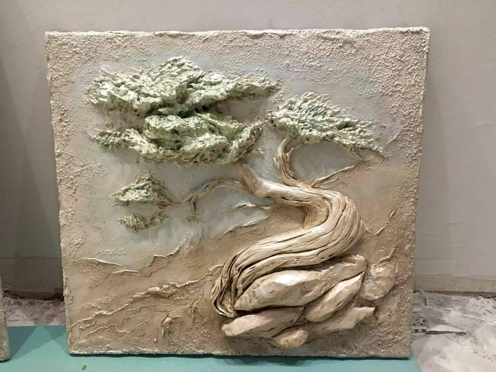 Барельеф на стену в интерьере своими руками - инструкция по созданию