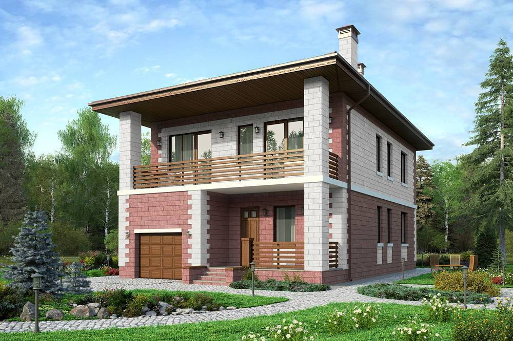 ????постройка двухэтажного дома из газобетонных блоков - блог о строительстве