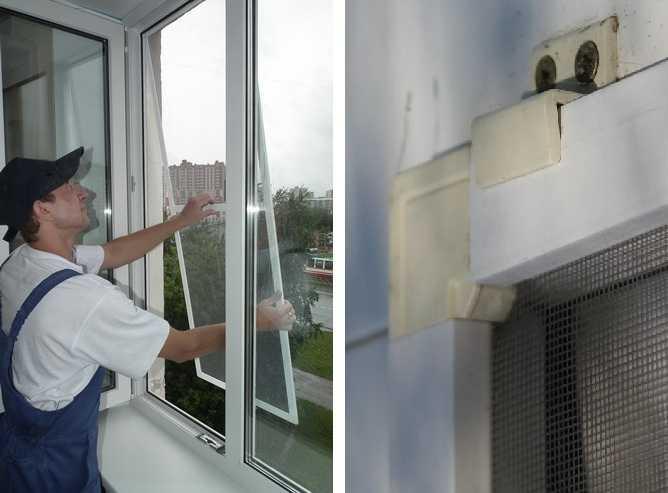 Москитная сетка на окно – установка и изготовление своими руками: разные виды и случаи