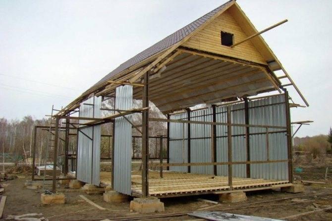 Строительство быстровозводимых домов из металлоконструкций под ключ в москве: купить дом из металлокаркаса по выгодной цене