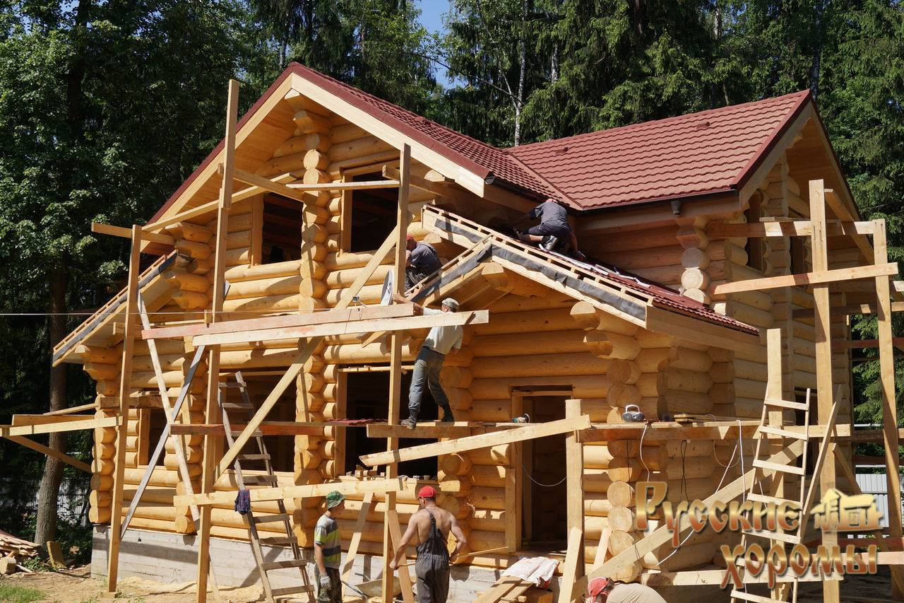 Строительство деревянных домов под ключ. красивые проекты и цены.