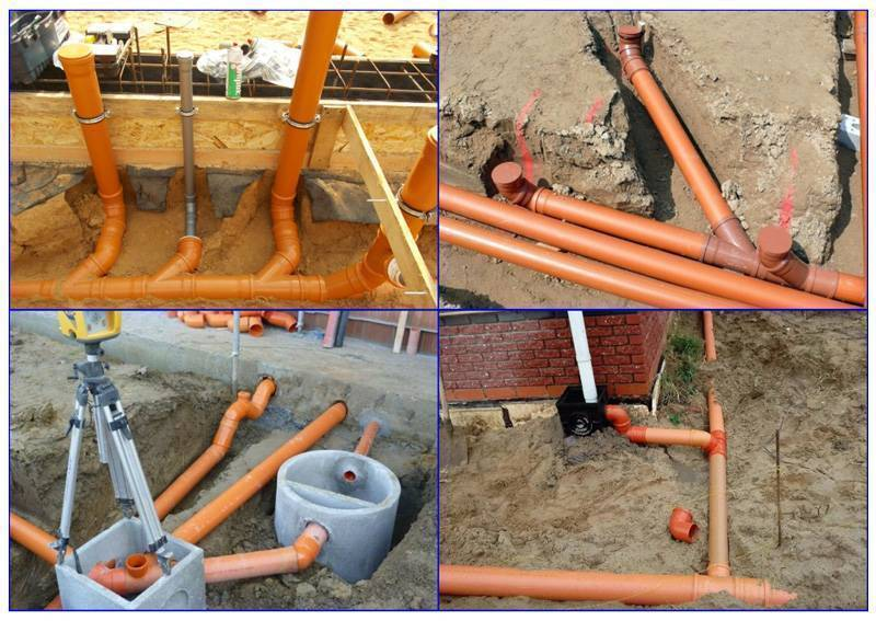 Уклон канализационной трубы 50, 110 мм : какой должен быть | инженер подскажет как сделать