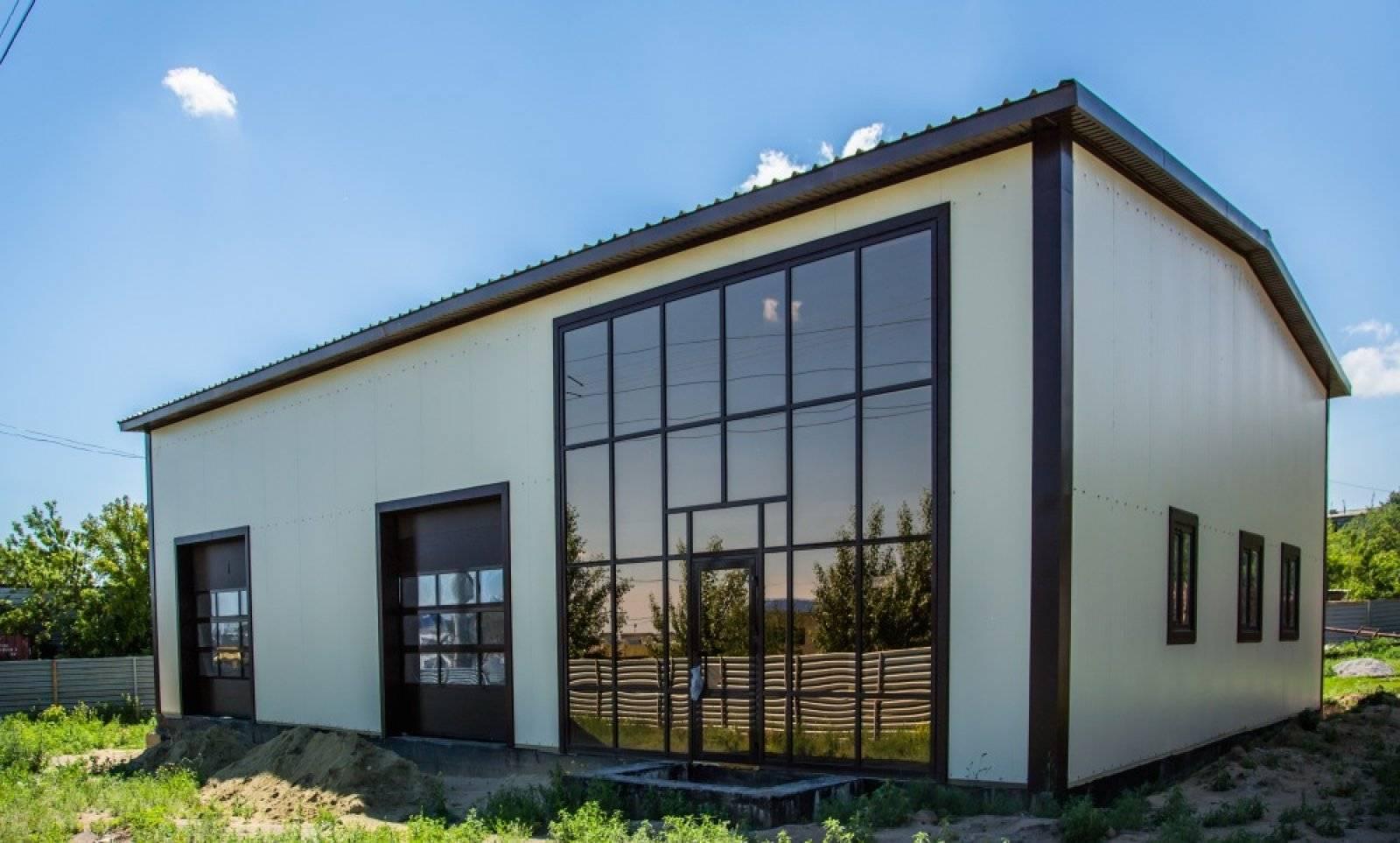 Быстровозводимые здания из металлоконструкций, строительство и монтаж под ключ, цена за м2