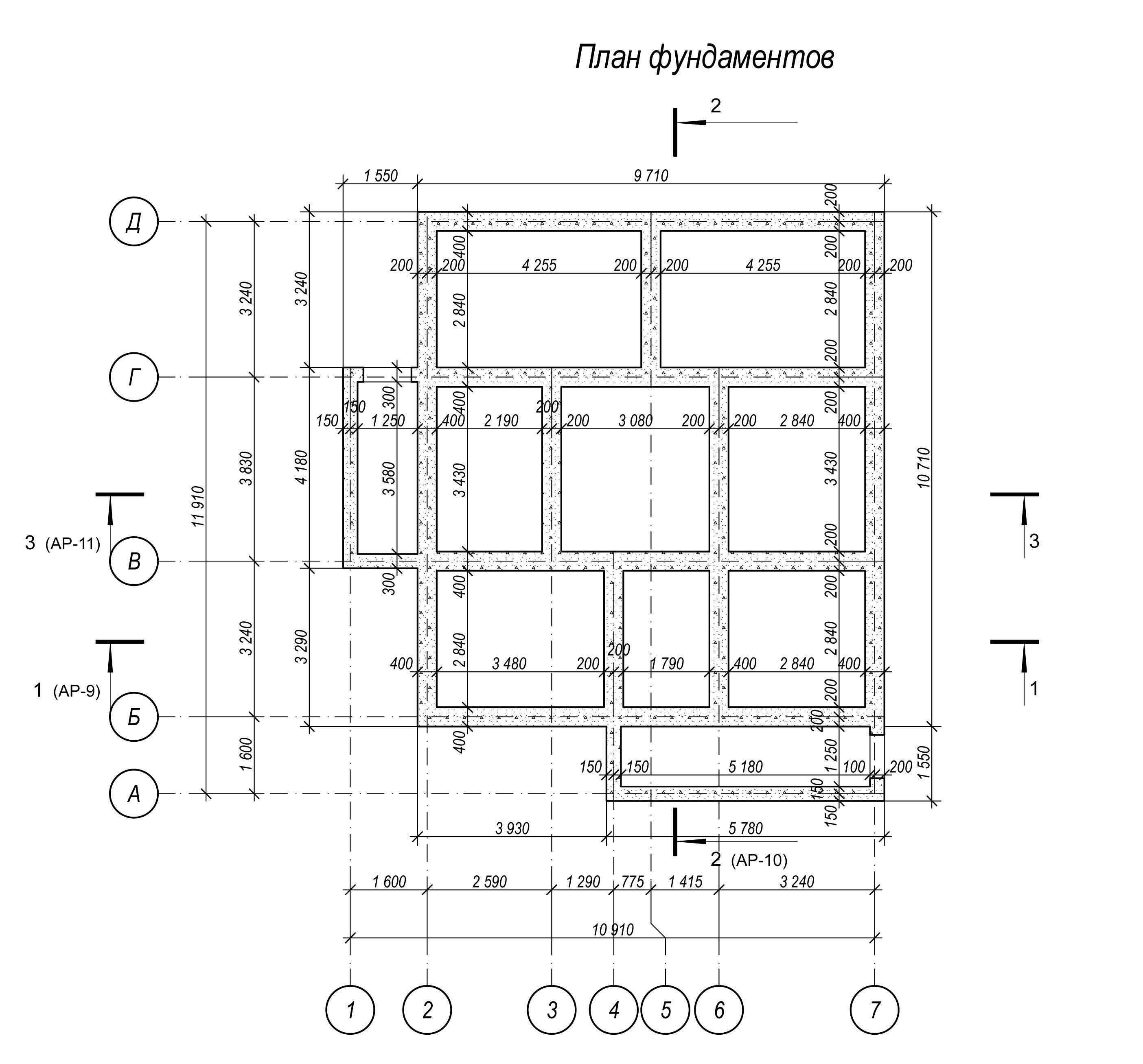 Калькулятор ленточного фундамента дома