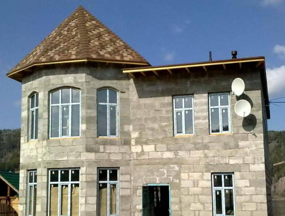 Дом из полистиролбетона своими руками   стройсоветы